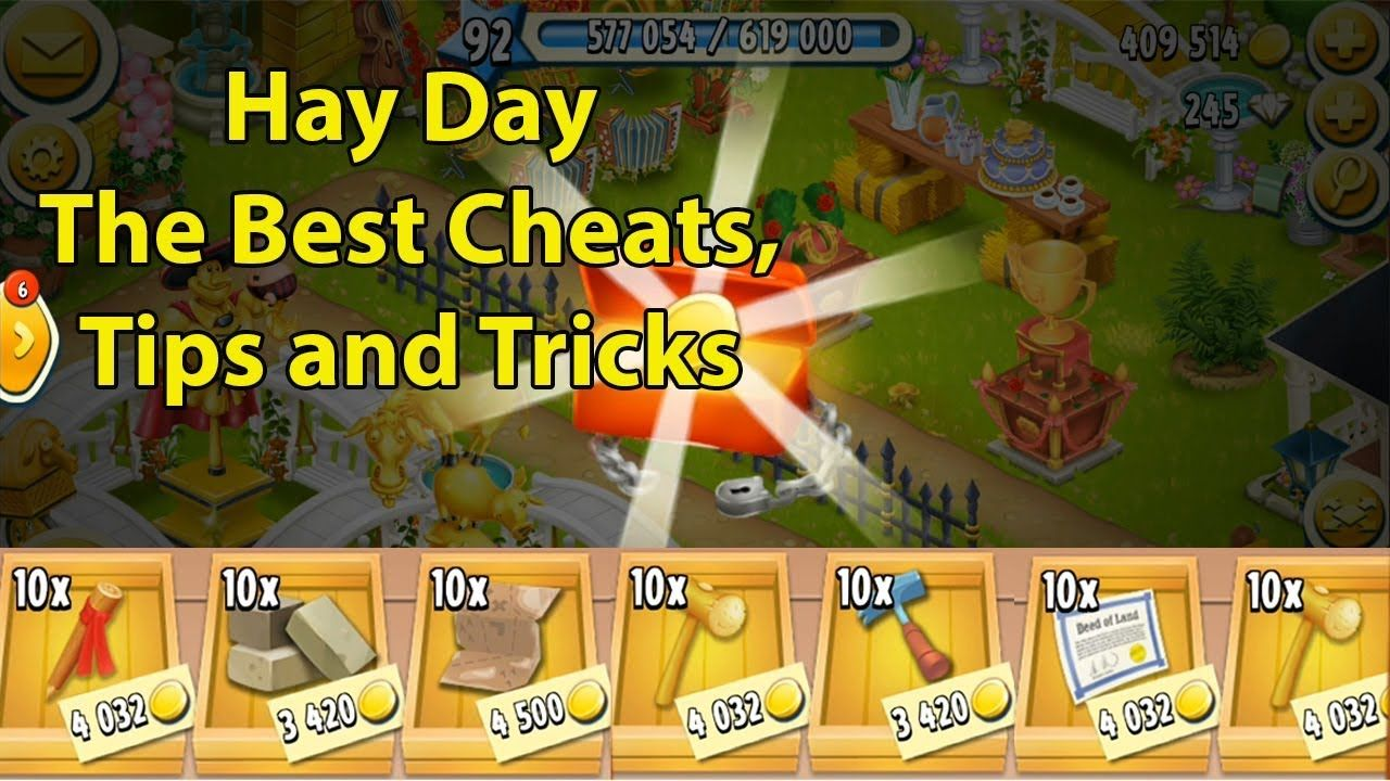 Hay Day The Best Hay Day Cheats Tips And Tricks Hay Day Hay Day Cheats Hayday Hacks