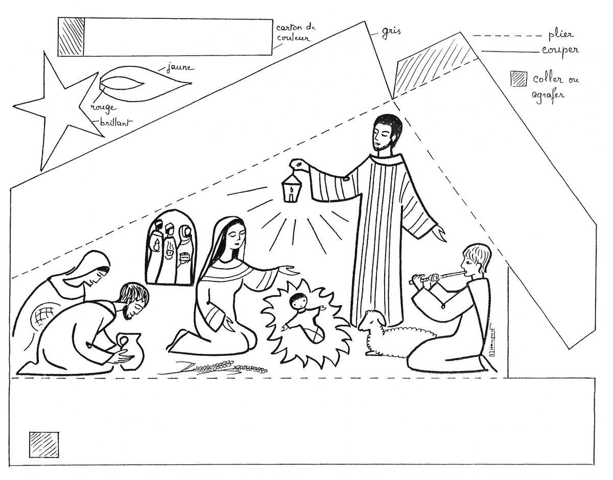 Bricolage de Noël : des idées de crèche en papier | Bricolage noel