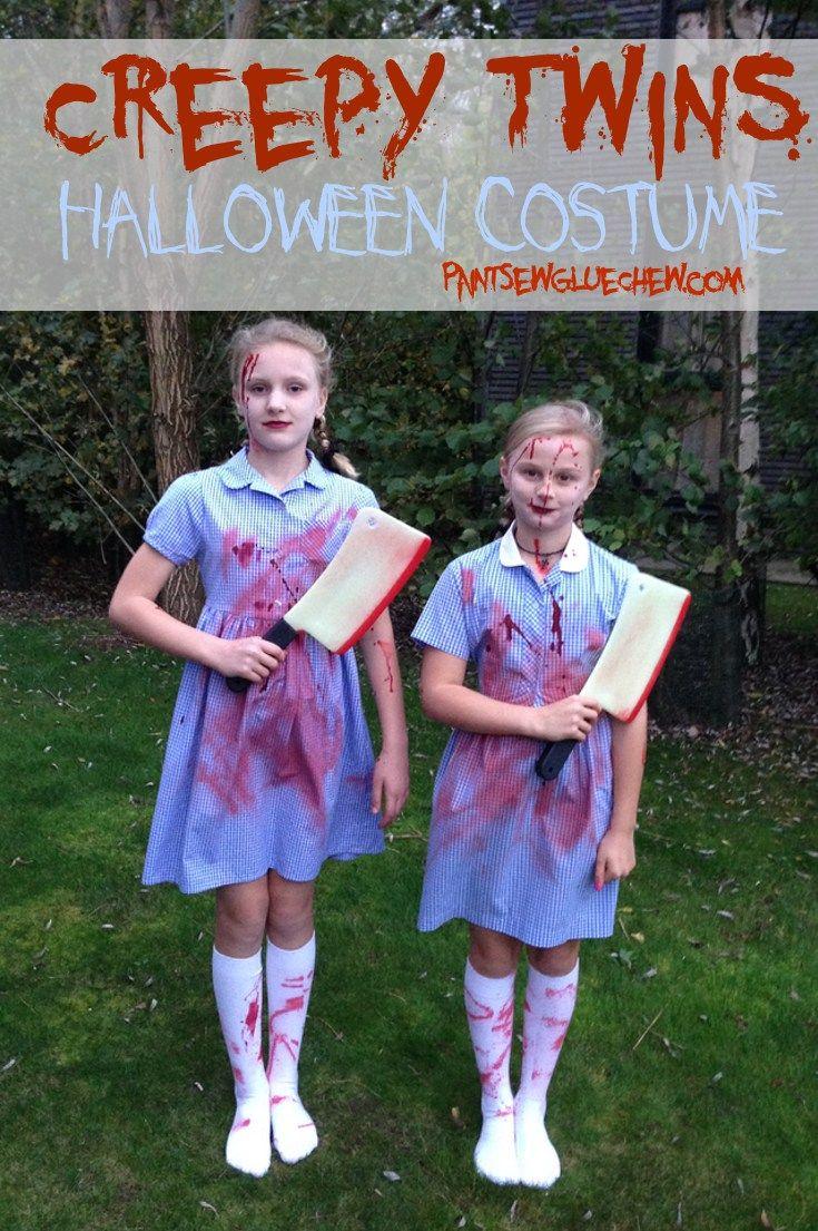 Creepy Twins Halloween Costume Halloween