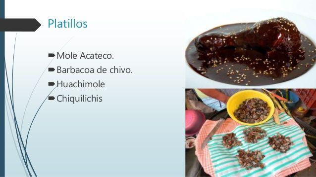 Gastronomia-de Acatlan de Osorio