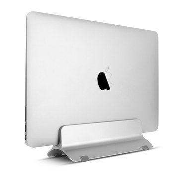 f760a9e6ef Aluminium Vertical Laptop Stand Holder Space Saving For Notebooks Macbook  Pro Macbook Air