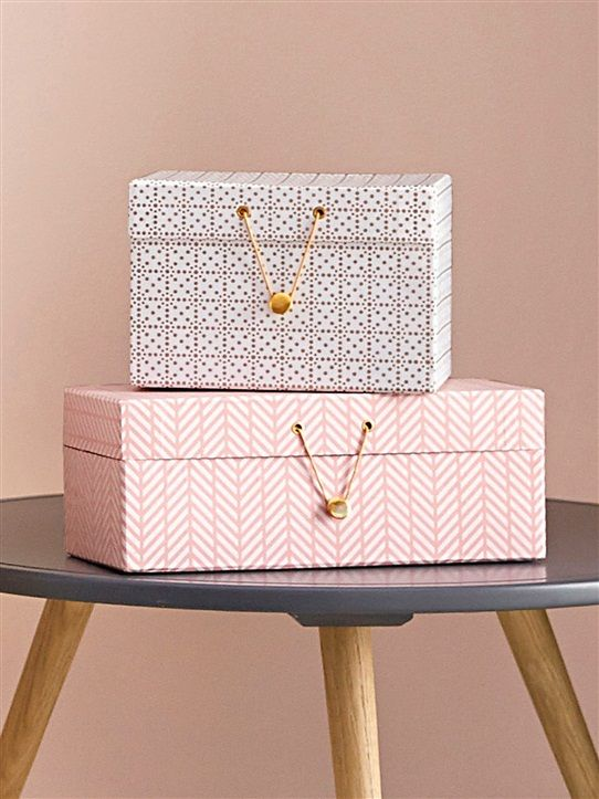 Gobelet carton par lot de 8 meri meri blanc motif - Boite decorative en carton ...
