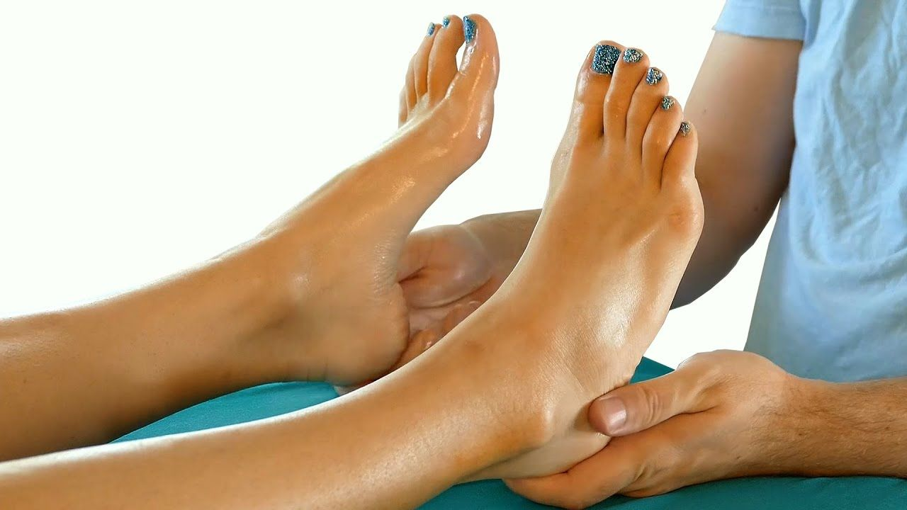 How to give a stress relieving foot massage youtube.