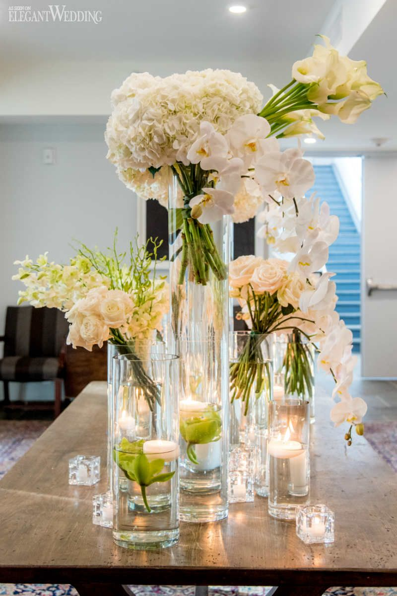 Country Chic Wedding with White Orchids | ElegantWedding.ca