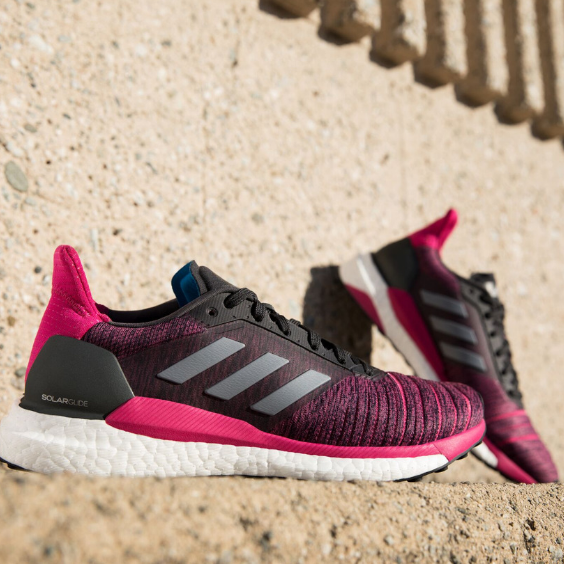 2b97fc1dcc82a Run on solar power with thousands of boost™ energy capsules cushioning you  in the new Women s adidas Solar Glide running shoes. Finally