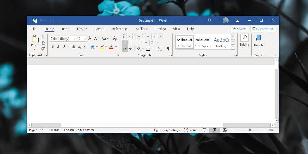 How To Remove User Name From Title Bar In Office 365 How To Remove Word File Microsoft Office