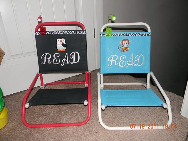 Beach Chairs With Reading Lamps From Dollar Tree She Uses These One For Each Child And Several Room Instead Of Turning On The Lights In Her