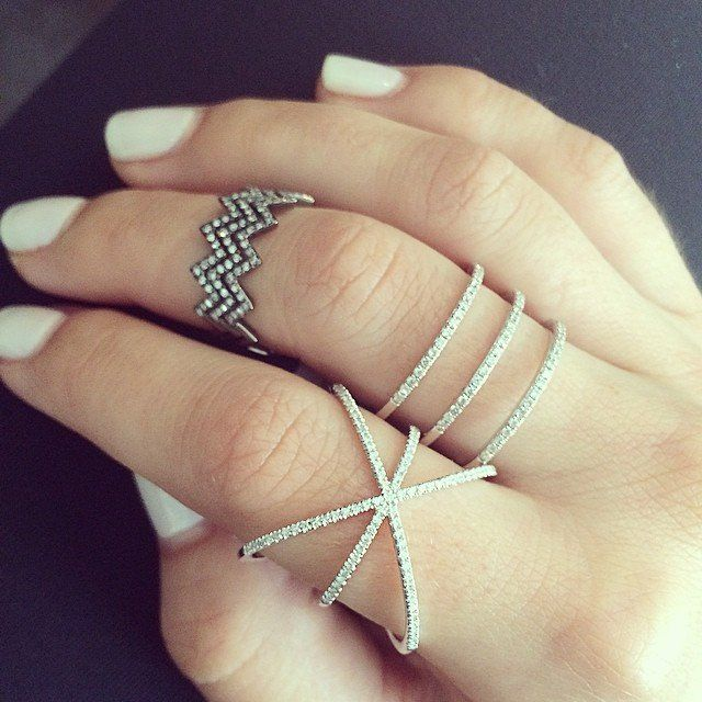 EF Collection Diamond Cage Ring - 2