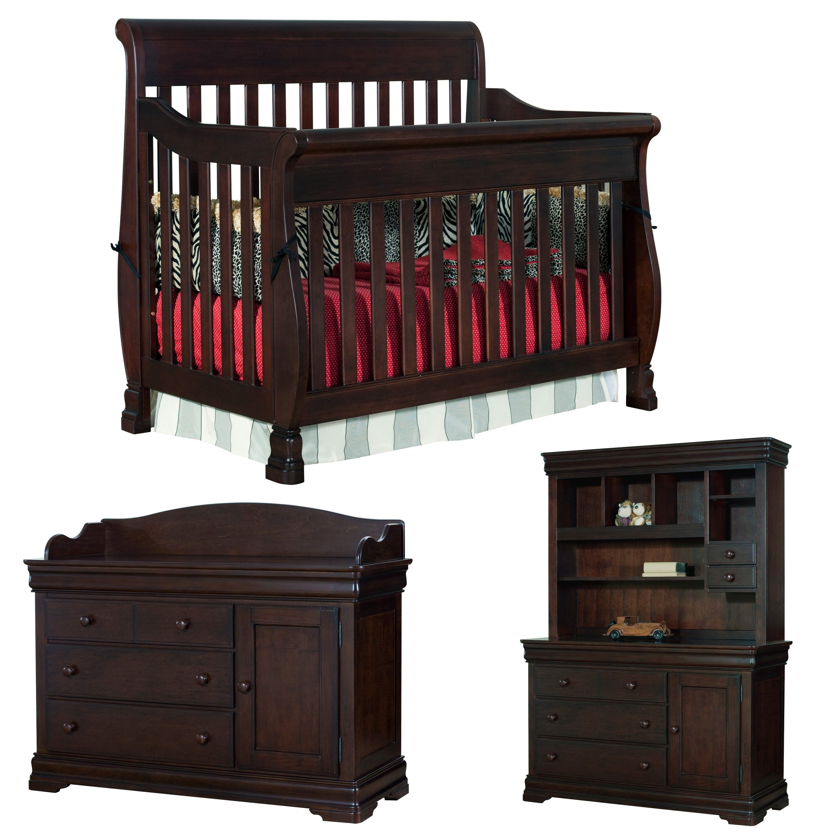bay crib dark oak ikea larger shop packages view and chest wardrobe thenurseries gray modern room bassinet furniture drawer babies set newborn baby drawers nursery cribs changing with