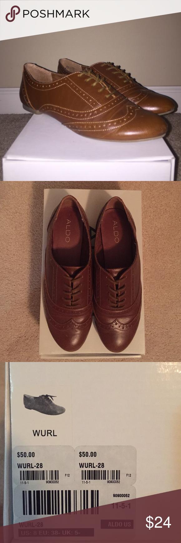 Aldo Cognac Wurl Brown Aldo Wurl. Size 8. Minimal wear. Aldo Shoes