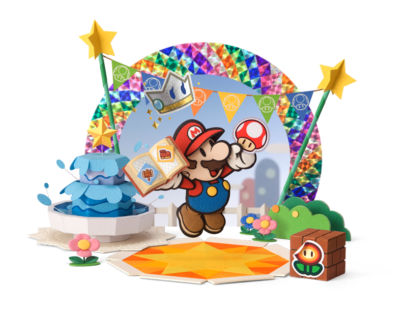 Paper Mario Sticker Star, new Paper Mario for 3DS!