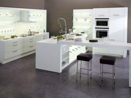 ixina cuisine design pas ch re selles noires correspondant et cuisine tendance. Black Bedroom Furniture Sets. Home Design Ideas