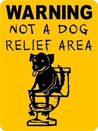 Warning No Pooping Aluminum Dog Signs Ndra4c Dog Signs Dog Boarding Near Me Teach Dog Tricks