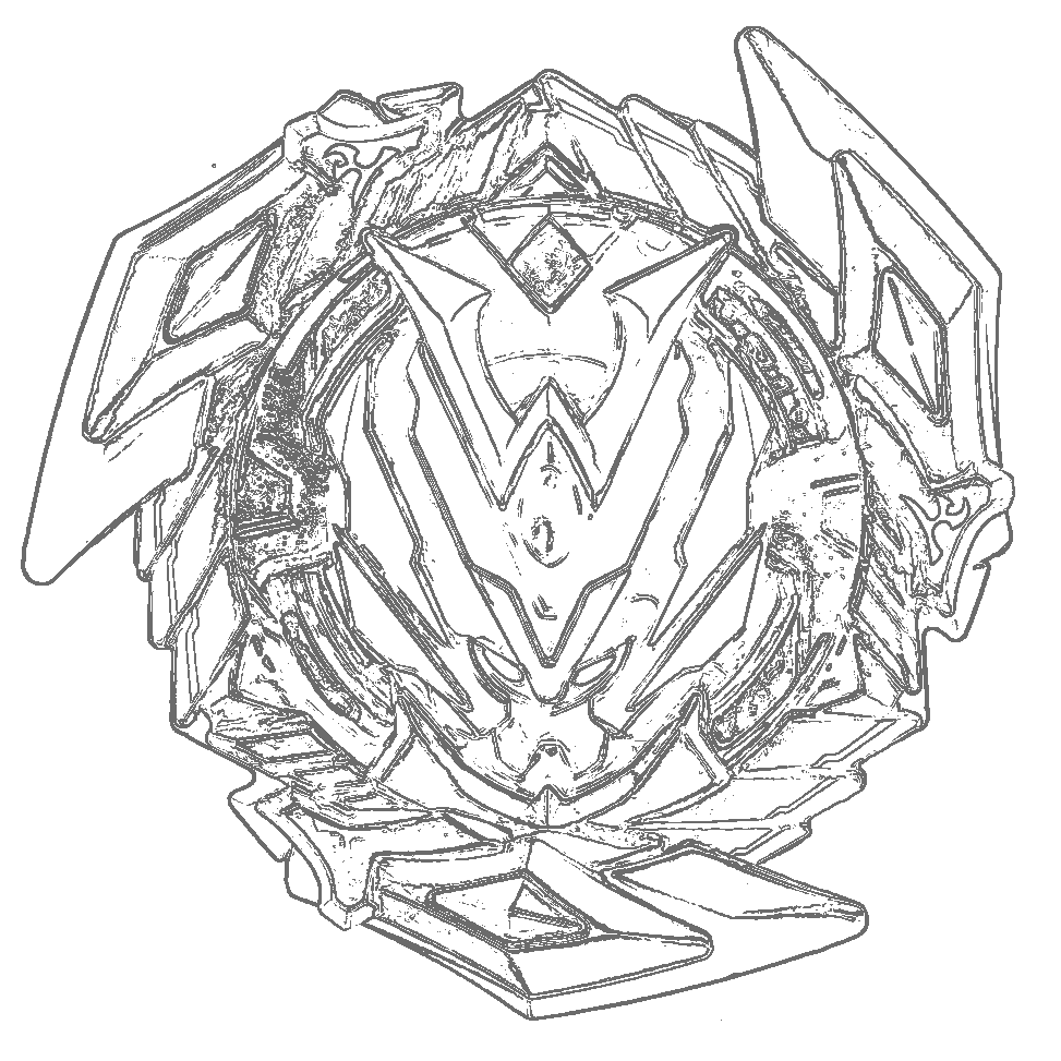 beyblade burst coloring pages spryzen