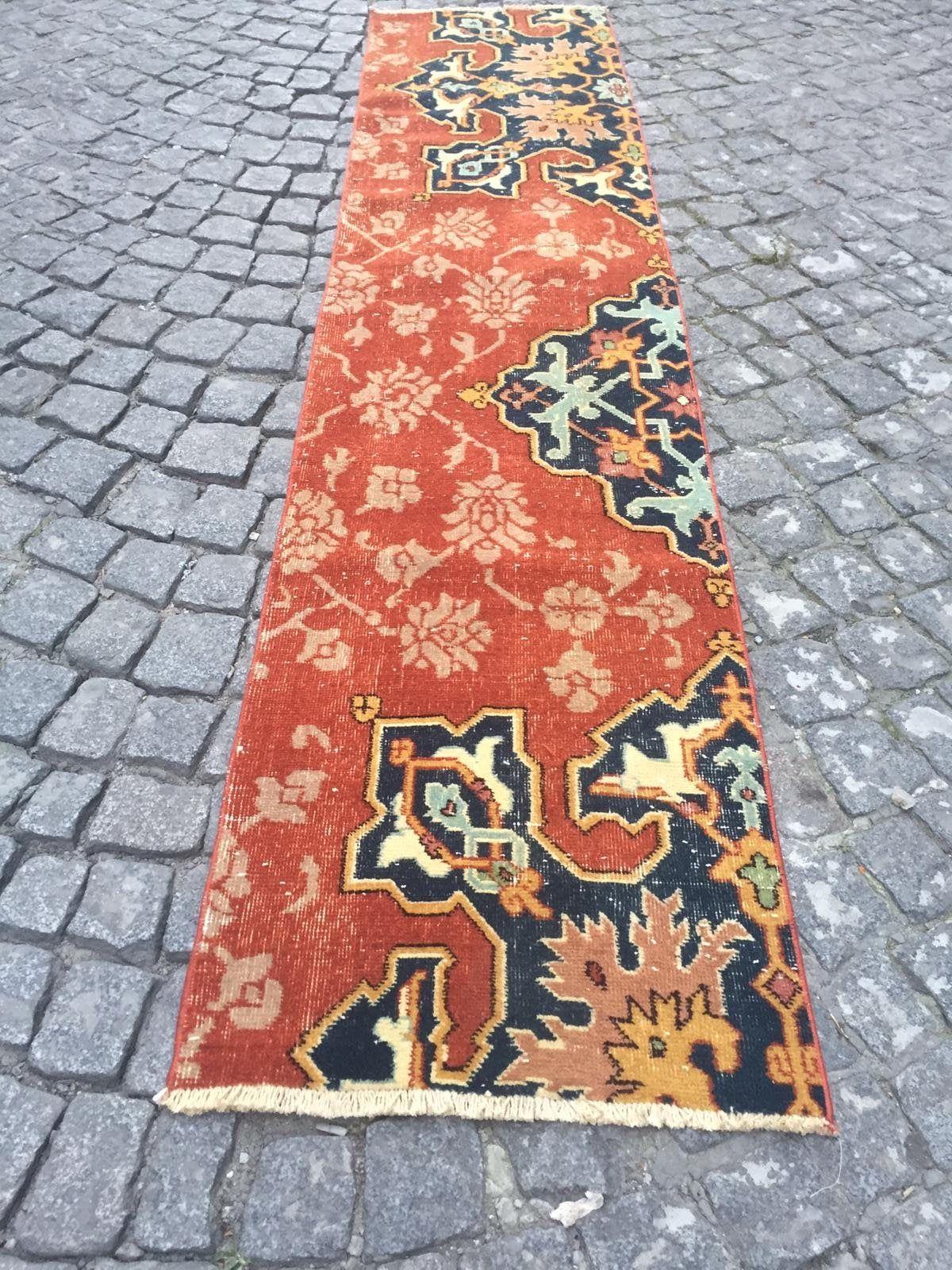 Turkish Carpet, 044  8'5  Ft x 1'10 Ft. 2.57cm x 0.57cm Vintage handmade Low pile Tribal Carpet  Anatolia Home Decor. Konya Rug. #carpet #rug #homedecor #officerunner #runner #oushak #HomeDécor #turkishkilimpillow #bohemianpillow #cushioncover #decorativepillow #pillowcase #bohokilimpillow #turkish #rug #etsyrug #etsy #carpet #homedecor #homedizayn #homedesign #newyork #america #dallas #handmaderug #handmade #ottoman #ottomanrug #ruglove #kilimmodelleri #vintage #vintagestyle #oushakrug #kilim