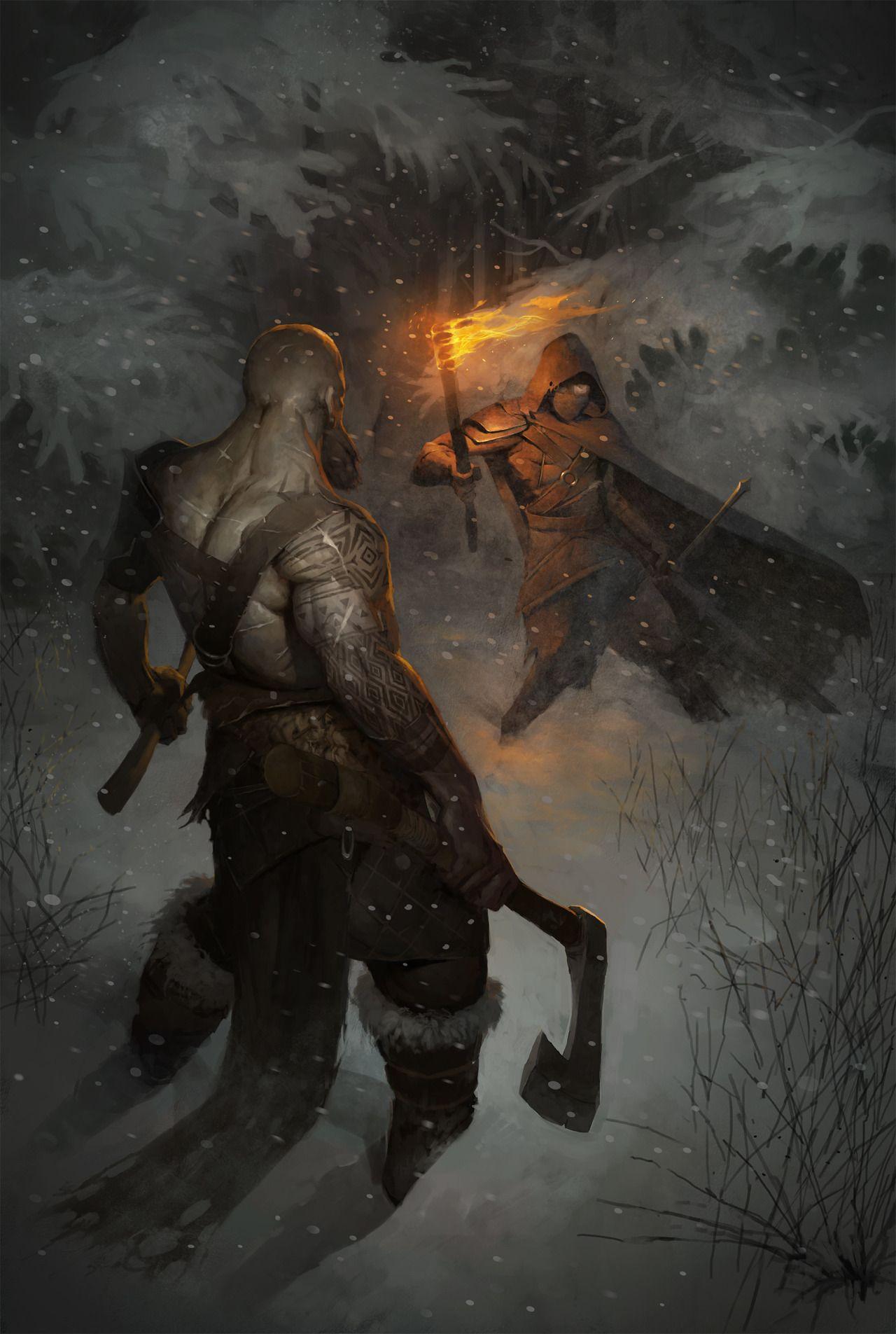 Quarkmaster Fight In Forest Stanislav Dikolenko