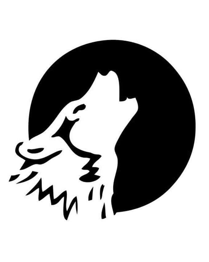 Free pumpkin stencils for halloween wolf stencil stenciling and image result for wolf print pumpkin patternspumpkin pronofoot35fo Choice Image