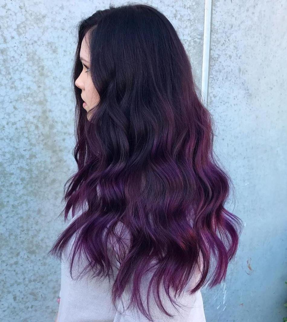 770ee517f95e52fa0c338e1e12d5b2ce Jpg 236 402 Pixels Purple Ombre Hair Hair Styles Dye My Hair