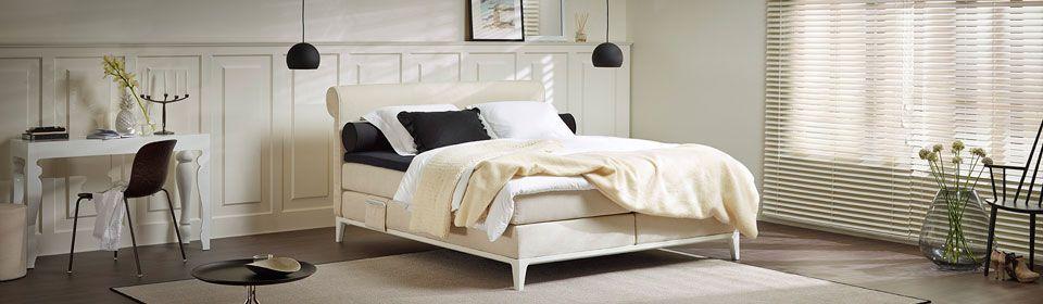 boxspringbett criade bed bett schlaf sleep boxspring white design komfort. Black Bedroom Furniture Sets. Home Design Ideas