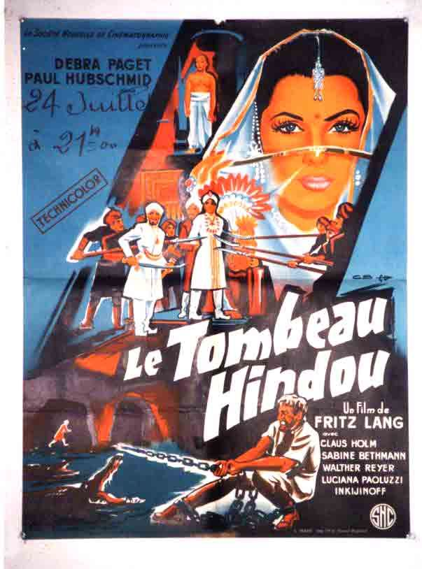 1959 By Fritz Lang Das Indische Grabmal The