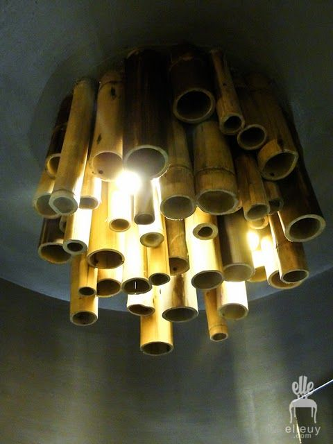 Bamboo Light Fixture All Things