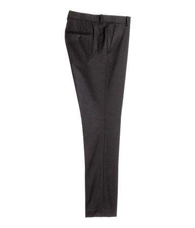 3a9653fad44cad Suit Pants Slim fit   Black   Men   H&M US   The 9's & Four Lean ...