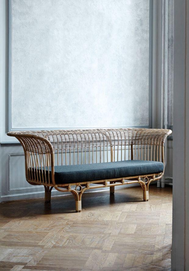 Franco Albini Canapé Vintage Italy Pinterest Sillones, Sillas - muebles de bambu modernos