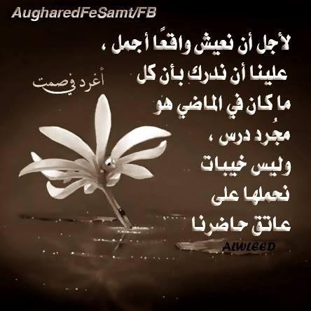 دع الماضى يرحل Fancy Words Arabic Words Words