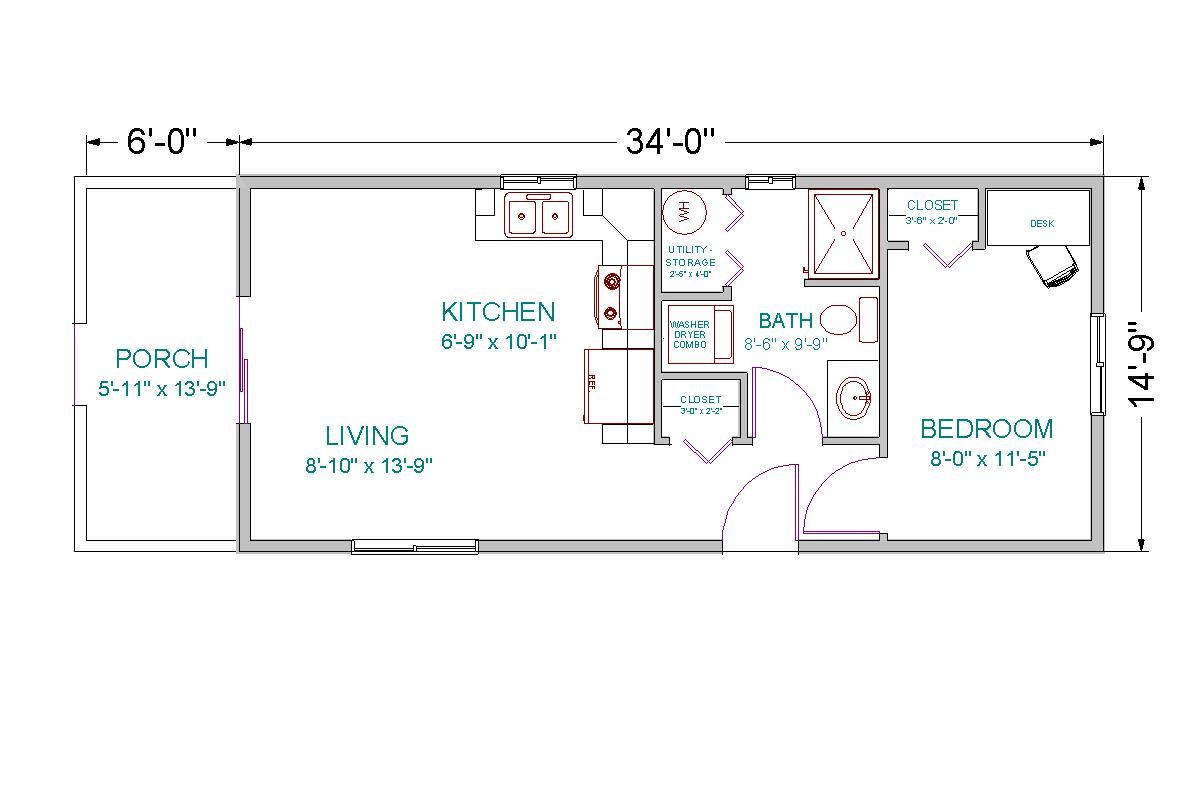 Apartment Floor Plans 1000 Square Feet under a 1000 sq ft. house plans with loft | modular little lodge