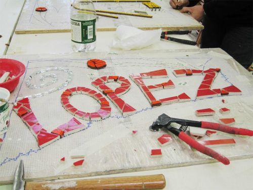 Lettering | por Institute of Mosaic Art