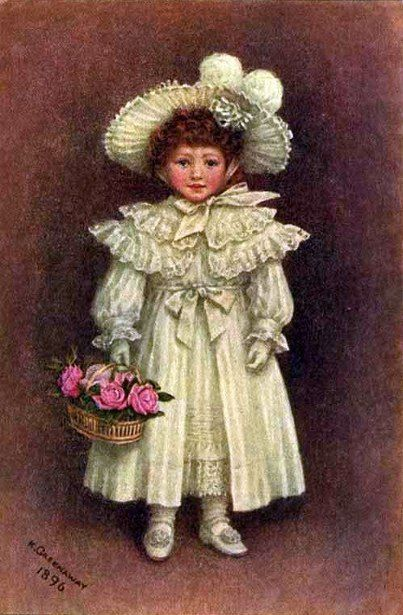 Vera Evelyn Samuels, Kate Greenaway (1846 – 1901, English)-- I AM A CHILD