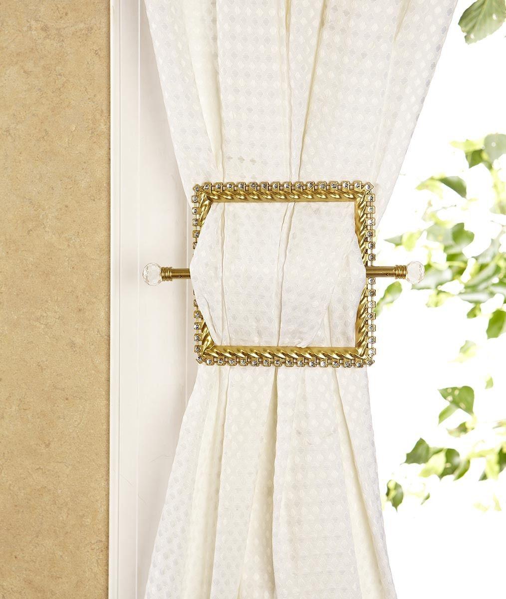Venetian Curtain Holdback Gold Moshells Curtains Curtains Holdbacks Curtains Bedroom