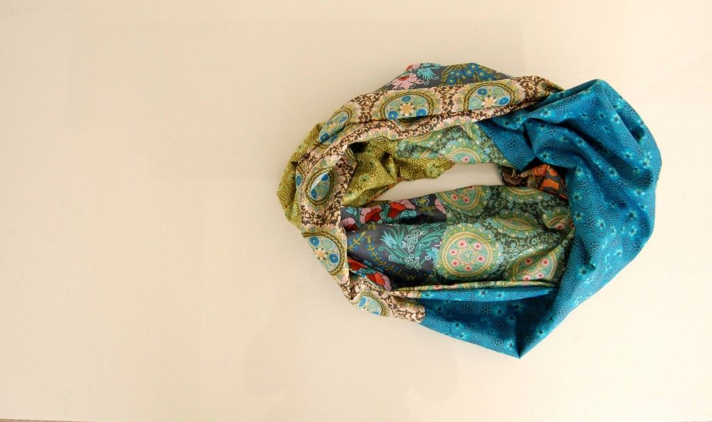 cameo voile infinity scarf
