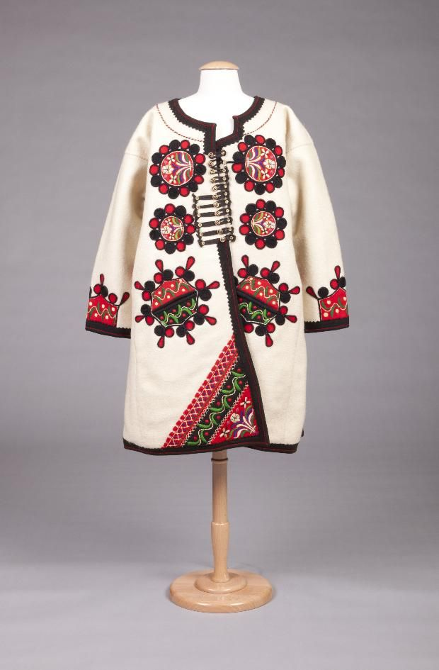 Hungarian Coat C 1959 Hungarian Embroidery European