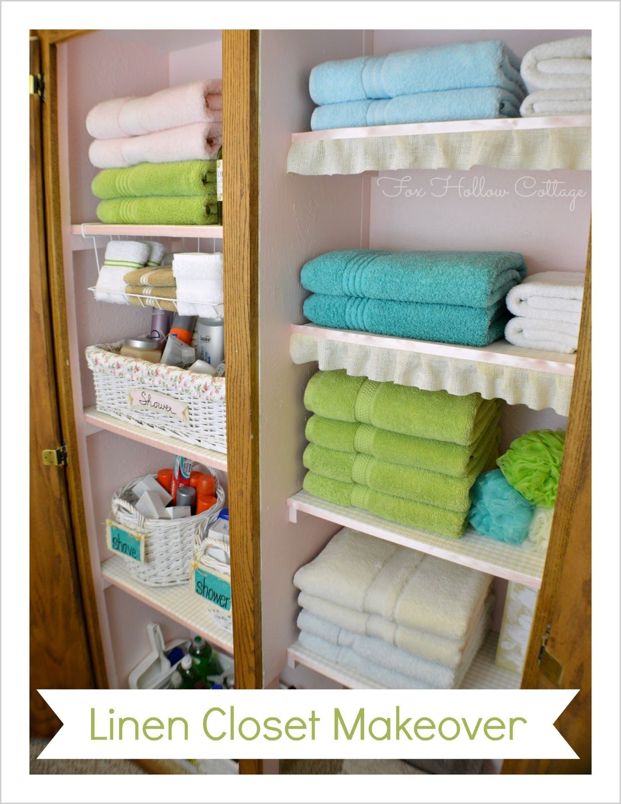 Organize Linen Closet Ideas Part - 20: Project Linen Closet Reveal {pretty And Organized!}