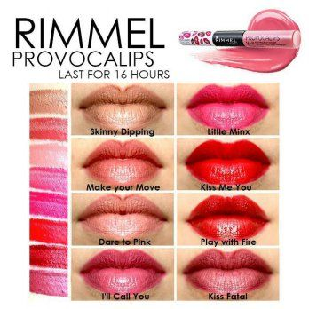 Rimmel Provocalips Last For 16 Hours Elevenia For The