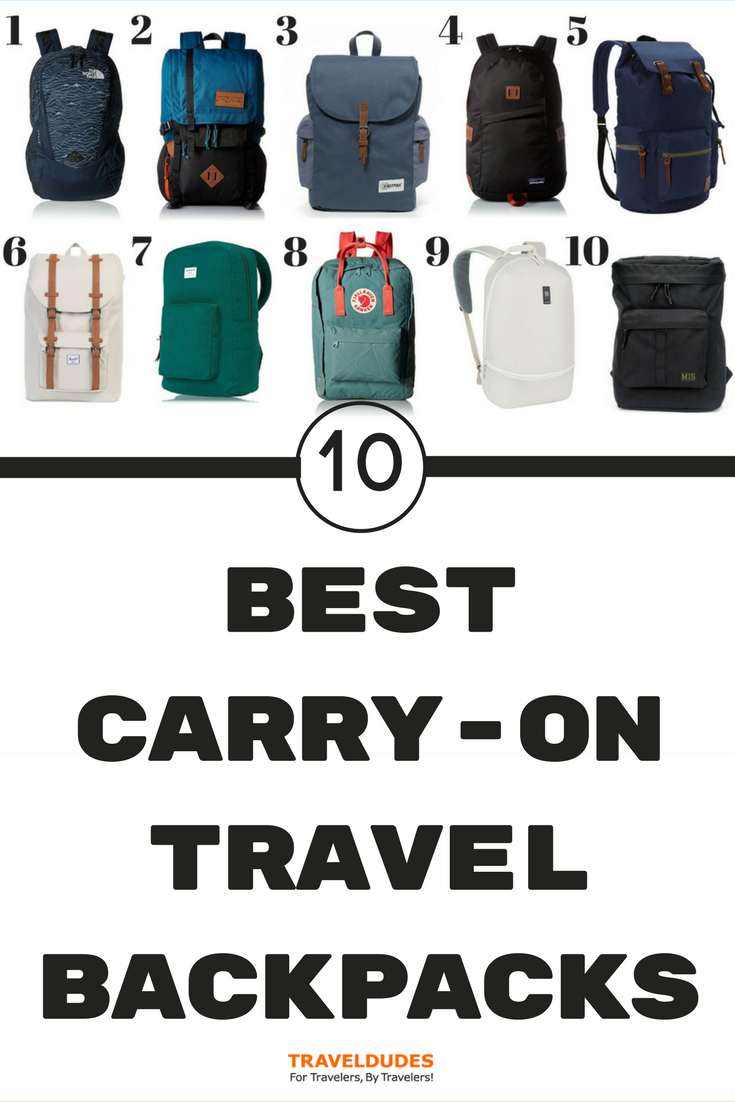 fb1c9b2014de ... to find the perfect travel carry-on backpack with so many options  available. We ve done the hard work for you and put together a list of the  ten best ...
