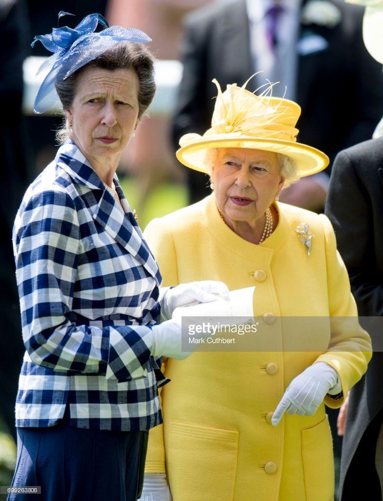 Queen Elizabeth II and Princess Anne, Princess Royal