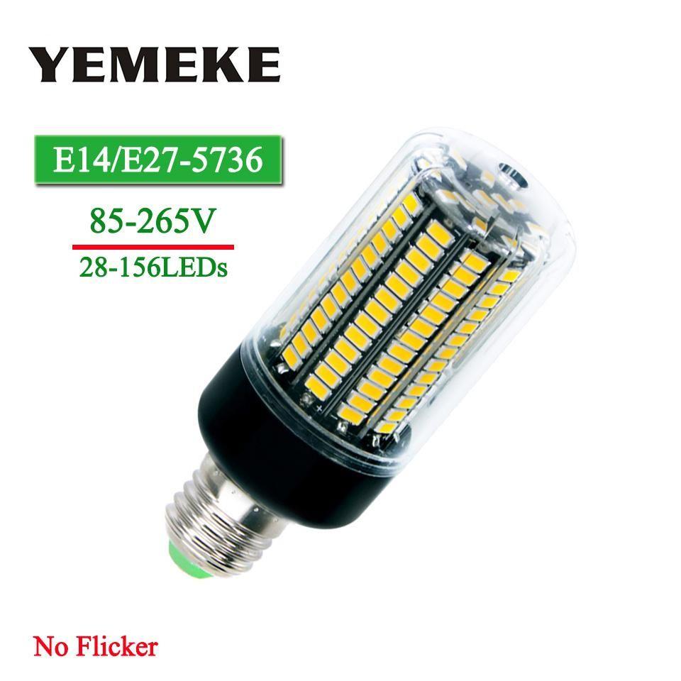 Smd5736 E27 Led Bulb 3w 5w 7w 8w 12w 15w Lampada Led Corn Lamp Bulb E14 85 265v No Flicker Bombillas Led Light For Home Lighting Led Bulb E27 Led Bulb