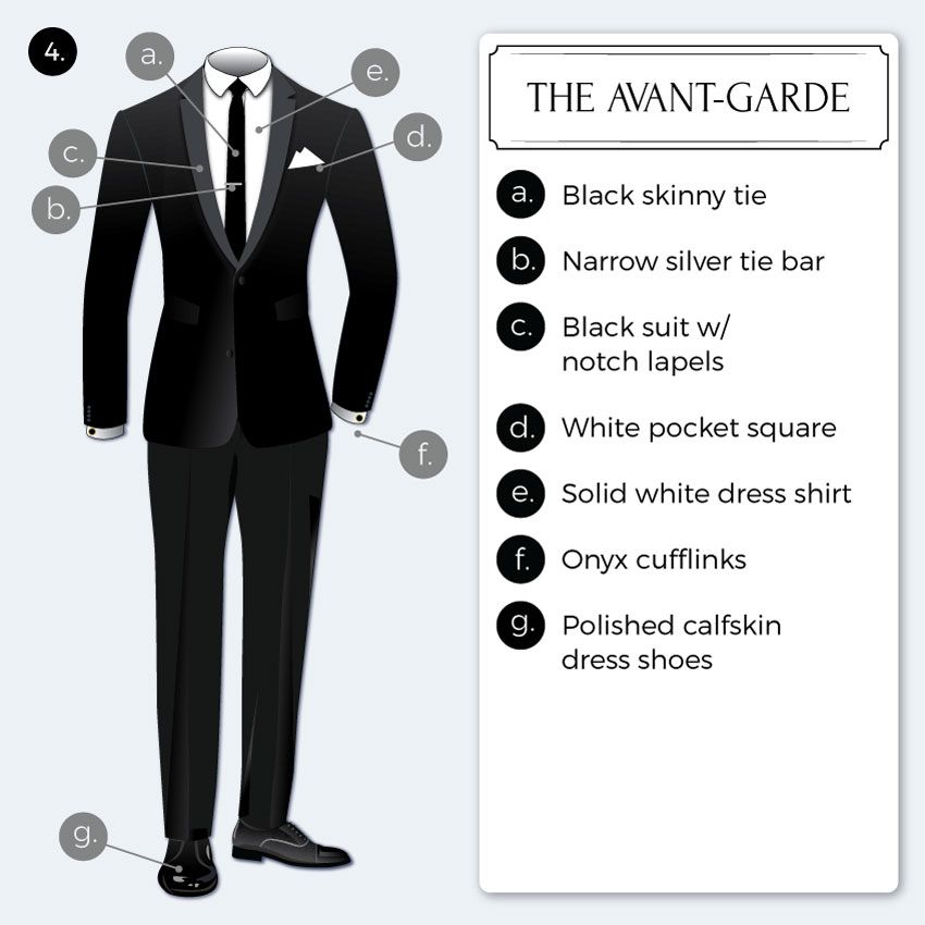 Black Tie Optional Dress Code Guide | clothing ideas ...
