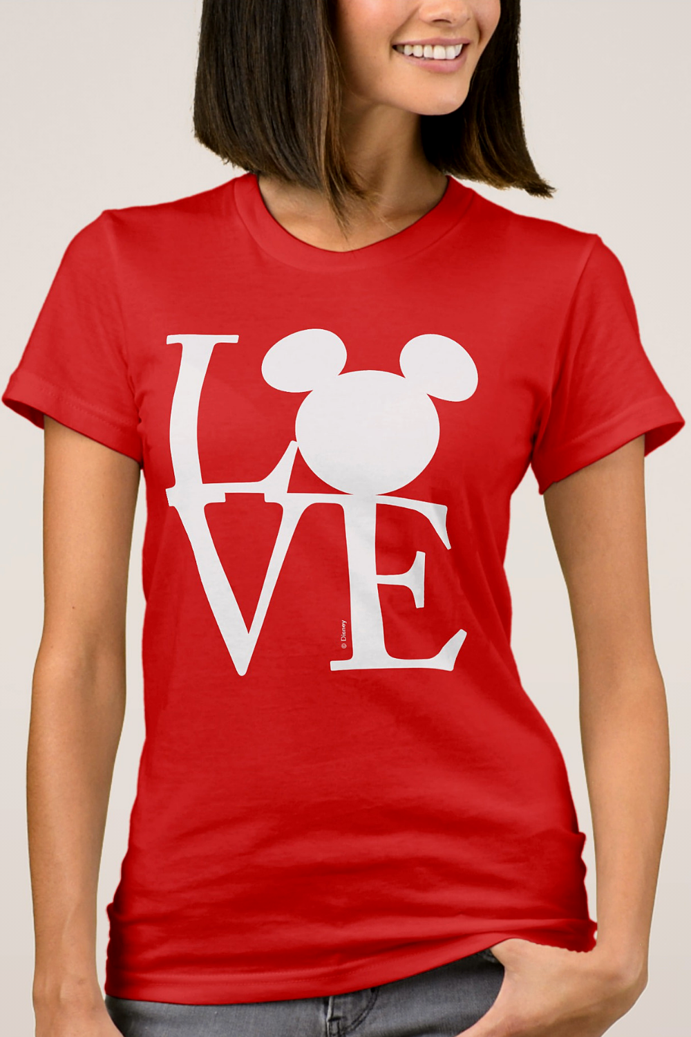 Mickey Mouse Love Valentines Day T Shirt In 2019 Awesome