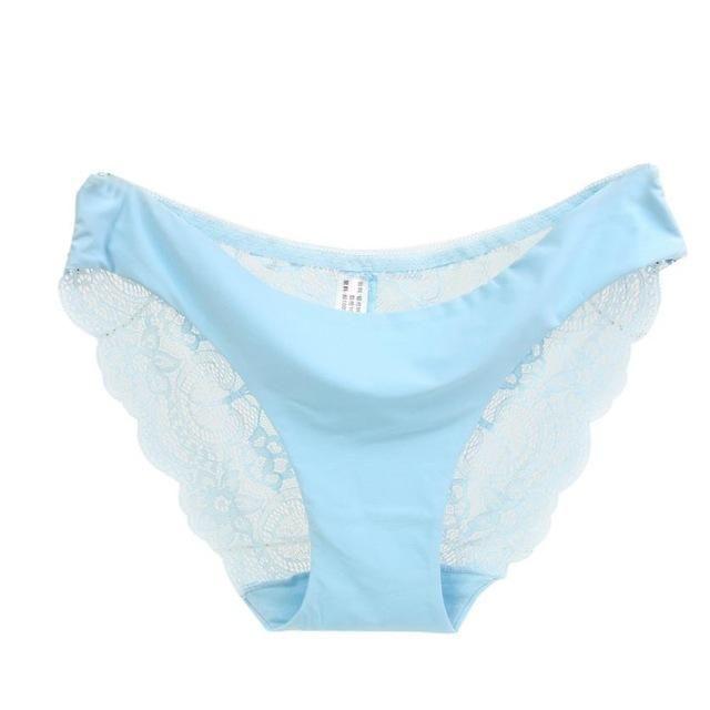 d07826033 RE Ladies underwear woman panties Victoria fancy lace calcinha renda sexy  panties for women traceless crotch of cotton briefs