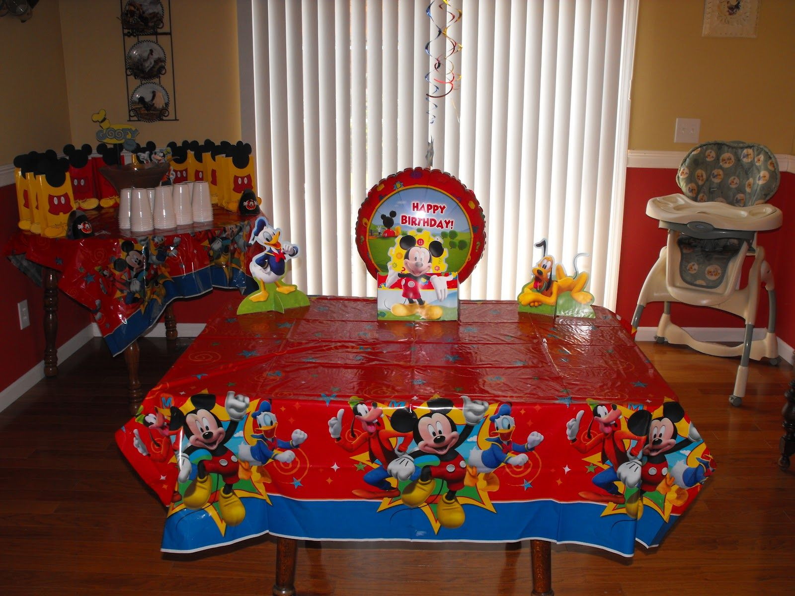 Mickey Mouse Clubhouse Party Ideas Homemade intentionsof using