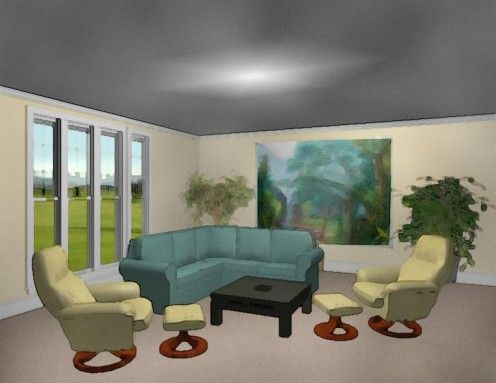 Charming By Properly Placing The Furniture In Your Living Room You Can Create Depth  And Make The