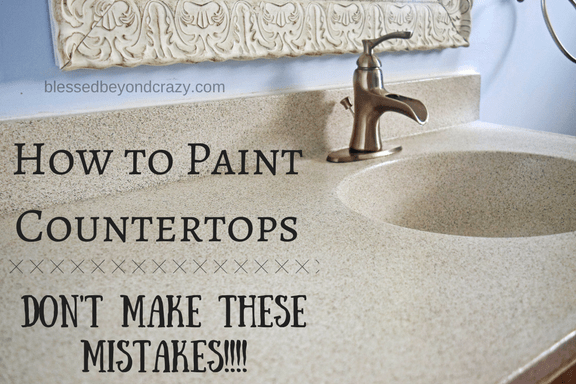 Before You Paint A Countertop Make Sure You Don T Make These