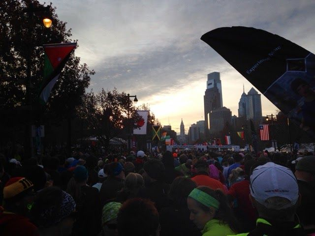 I'm glad I'm sore: Philly half marathon report TwynMawrMom