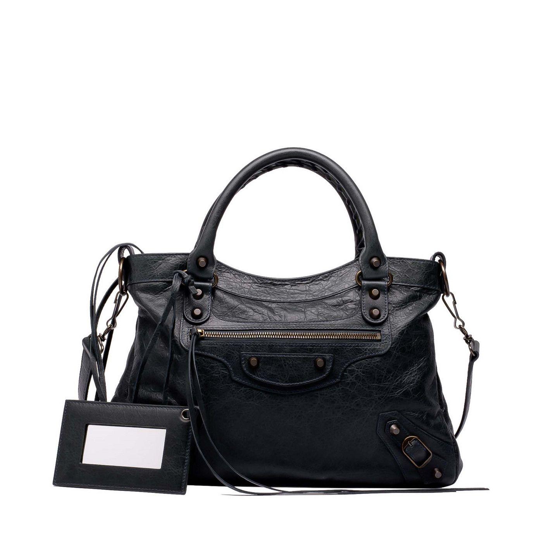 nouveau style f7493 ebb99 Balenciaga Sac à Main Classic Town Femme couleur Noir/ Noir ...