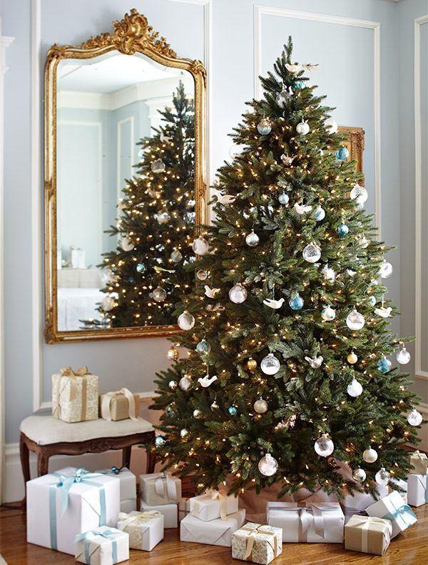 Centennial Fir Artificial Christmas Tree Balsam Hill Frosted Christmas Tree Fir Christmas Tree Christmas Tree Decorations