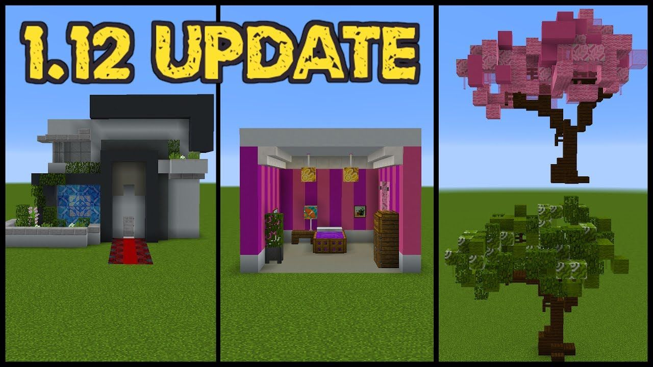 Minecraft 1 12 Update Building Tricks And Tips Minecraft Tutorial Minecraft Designs Minecraft