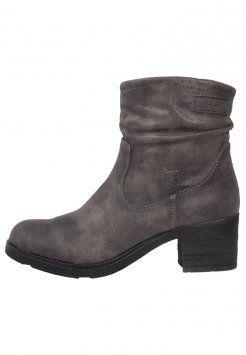 separation shoes 3389e 7fd58 s.Oliver - Cowboy-/ Bikerstiefelette - grey | shopping ...